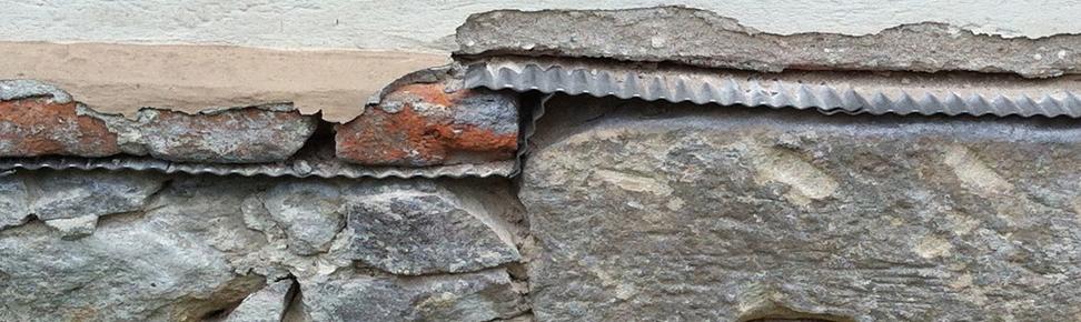 Horizontalsperre oberhalb Bruchsteinmauerwerk